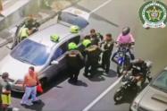 32 motos y seis vehículos recupero la policía en operativo contra el hurto en Medellín