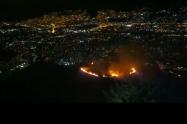 Buscan a responsables de incendio del Cerro de las Tres Cruces