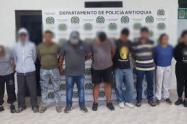 Capturaron a 20 presuntos integrantes del Clan del Golfo en Caucasia