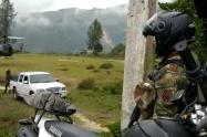 Ejército hace presencia en Toledo, Antioquia