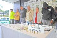 Desmantelan red dedicada al comercio de droga en Nariño, Antioquia