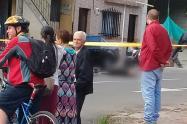 De un balazo mataron a un joven en Itagüí