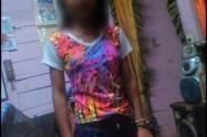 Manuela Estrada, niña de 12 años que cayó a un abismo en Barbosa, Antioquia