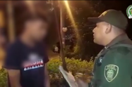 Capturan a presunto fletero que robó mas de 11 millones de pesos en Medellín