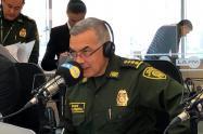 El general Óscar Atehortua, director de la Policía Nacional