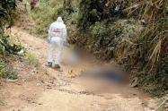 Confirman el asesinato de dos líderes sociales en Santa Fe de Antiquia