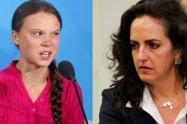 El mordaz ataque de María Fernanda Cabal a Greta Thunberg