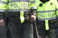 Los uniformados fueron detenidos, al parecer por cometer algunas irregularidades en una captura.
