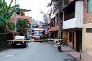 Dos jóvenes de 20 y 23 años fueron asesinados en Medellín