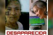 La mujer fue vista por última vez en el barrio Cabañas