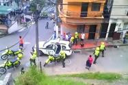 Un adulto mayor mató  de varias puñaladas a otra persona en el barrio Manrique la Salle