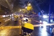 Tragedia en las vías, choque de motos dejó un muerto y otro herido en Bello