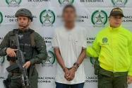 "Alias 'Bollón"", presunto integrante de la banda Libertadores del Nordeste."