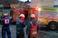 Un muerto y tres heridos dejó la explosión de una caldera en  Medellín
