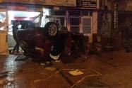 Accidente de tránsito en Zipaquirá