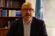 Alberto Brunori, representante de la Alta Comisionada de las Naciones Unidas para los Derechos Humanos en Colombia.