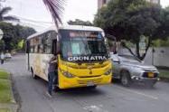 En Medellín, el transporte público funciona con normalidad en medio de las marchas