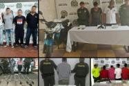Estas personas serían responsables de por lo menos diez homicidios cometidos en varias regiones en el departamento.