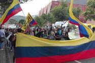 Movilizaciones en Medellín