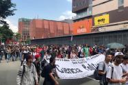 Referencia paro en Medellín.