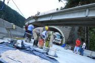 Obras vía Bogotá - Villavicencio