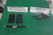Arma utilizada por menor de 16 años para  hurtar en laureles