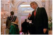 Trump en Mi pobre angelito 2