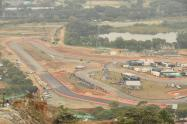 Las pistas del Central Park en Bello, Antioquia