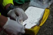 La policía ha capturado 64 personas que han intentado viajar con drogas desde el Aeropuerto de Rionegro, Antioquia.