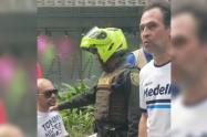 Federico Gutiérrez regañó a conductor borracho en Medellín