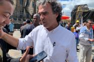 Sergio Fajardo, paro nacional, marchas