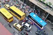 Asesinan a conductor de bus en racha criminal