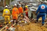 Dos personas muertas dejó un deslizamiento de tierra en san Antonio de Prado