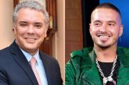 Presidente Duque se reunió con J. Balvin y otros artistas en Medellín
