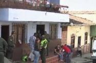Lanzaron una granda contra una vivienda den Amagá, Antioquia