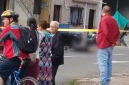 Un joven de 23 años fue asesinado en pleno parque de  Itagüí