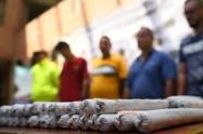 El explosivo pertenecería a combos de Bello que tendrían nexos con grupos dedicados a la minería ilegal en el Bajo Cauca antioqueño