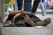 La víctima era un habitante de calle.