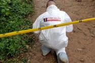 Asesina a venezolano y tapan el cuerpo con ramas para ocultar el crimen en Itagüí