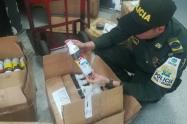 La policía decomisó más de 200 cajas de potencializadores sexuales en Medellín