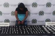 Policía capturó en Medellín a venezolana con más de cien cigarrillos de marihuana