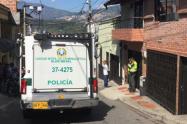 Racha violenta en Medellín.