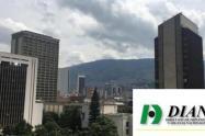Conato de incendio en sede de la DIAN en Medellín