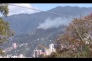 La conflagración se logró controlar antes de que afectara a las viviendas cercanas.