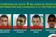 """Estas personas harían parte de la estructura delincuencial """"Libertadores del Nordeste""""."""