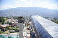 Así está el Metrocable Picacho de Medellín.