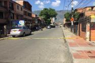 Balacera en Bello dejó una persona muerta y otra herida