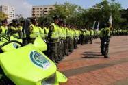 Policía murió al caerle una reja en Rionegro