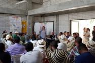 Reunión EPM con comunidades cercanas a Hidroituango