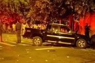 Hombre atropelló a 17 personas por una pelea con su esposa